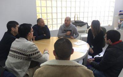 Terapias grupales: agentes de la policia local con colaboran con AOSA-TEA